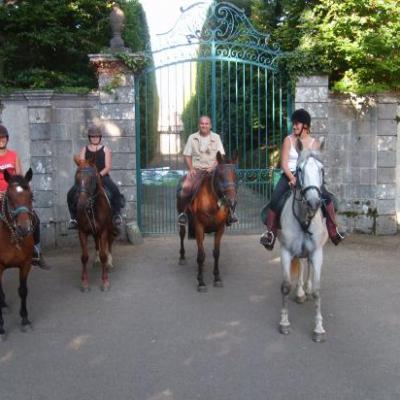 Le chateau de Cordès (aout 08)